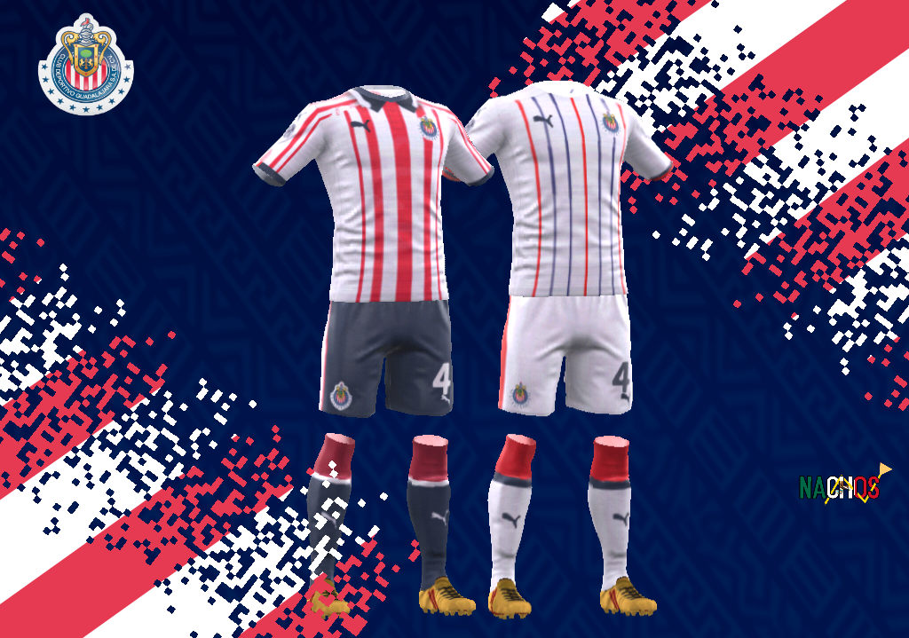152cf2b0d Chivas 2018 19 Home DLS 18 Dream League Soccer 2018 2019 Kit URL   https   i.imgur.com HmnzdzL.png