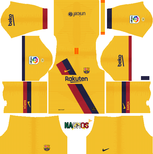 Nachos MX OFFICIAL DLS - Dream League Soccer kits