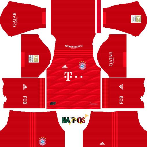 Nachos MX OFFICIAL DLS - Dream League Soccer kits