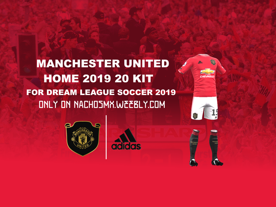 eba427e0844 Manchester United 2019/20 Home Kit for Dream League Soccer 2019 URL:  https://i.imgur.com/mnvRC3O.png